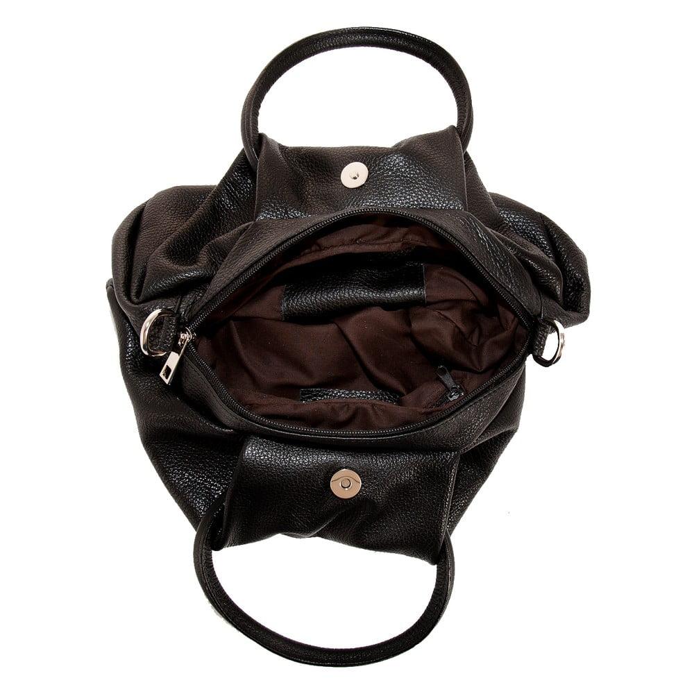 ... Čierna kabelka z pravej kože Andrea Cardone Dolcezza ... 1c5e4cf2528