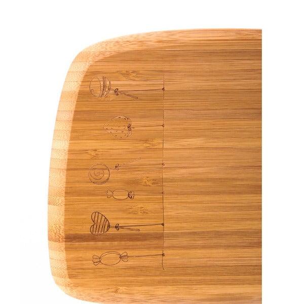 Bambusová doska na krájanie Bambum Tempo