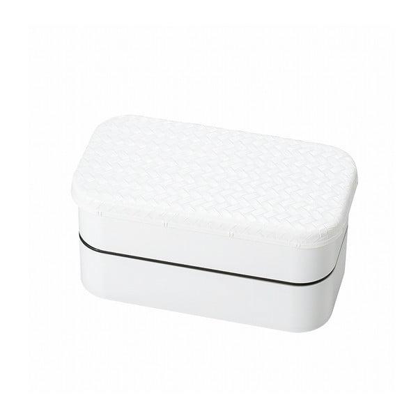 Biely desiatový box Joli Bento B&W, 1 l
