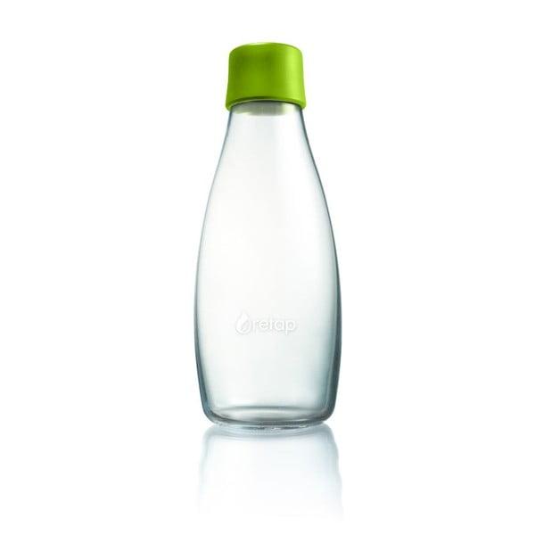 Zelená sklenená fľaša ReTap s doživotnou zárukou, 500ml