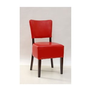 Červená jedálenská stolička SOB Bistro