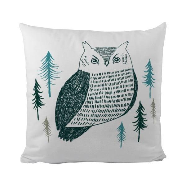 Vankúš Owl Coolie, 50x50 cm