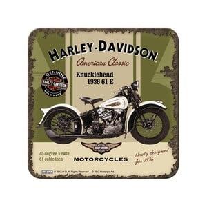 Sada 5 táciek Harley Davidson