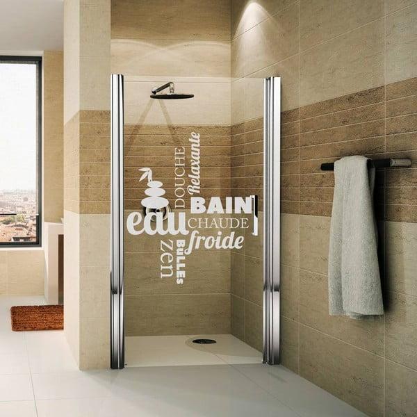 Vodoodolná samolepka do sprchy Ambiance Zen