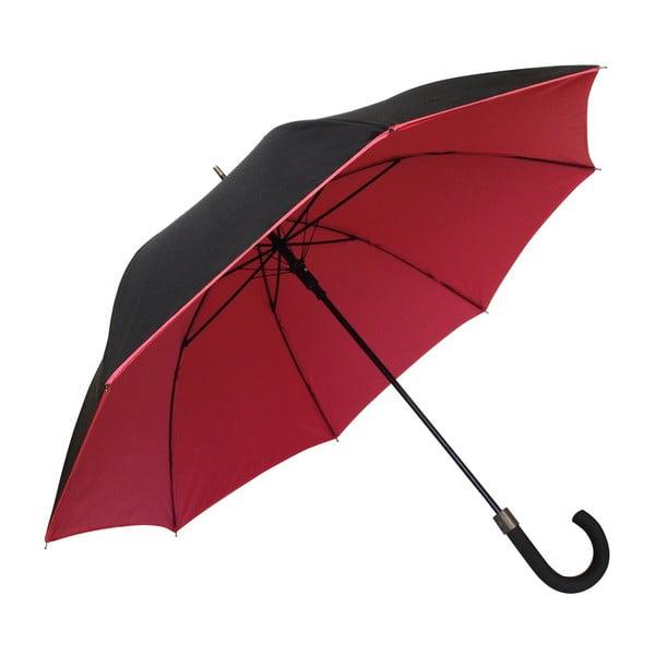 Červeno-čierny dáždnik Susino Noir Rouge