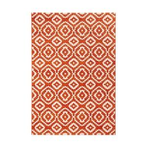 Oranžový koberec Schöngeist & Petersen Diamond Ornamental, 80 x 150 cm
