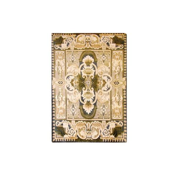 Vlnený koberec Bakero, 120x180 cm, béžový