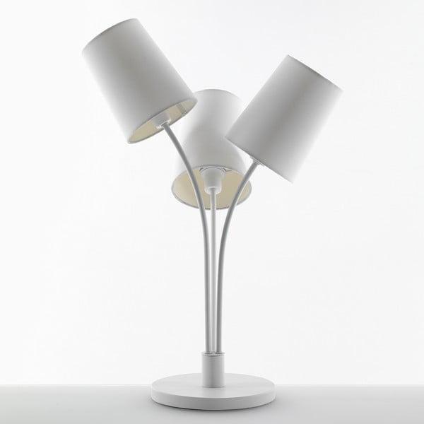 Biela stolová lampa Tomasucci Tris
