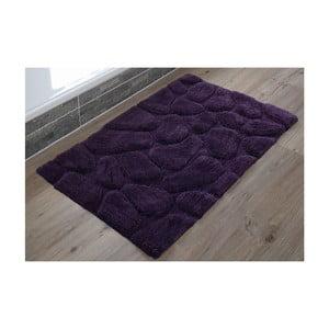 Kúpeľňová predložka Steine Violet, 60x100 cm