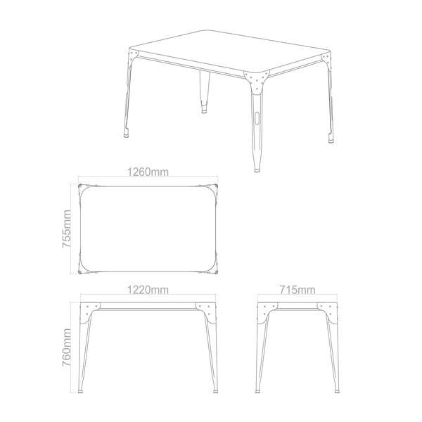 Jedálenský stôl Aviator