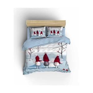 Vianočné obliečky na dvojlôžko Dominique, 200×220 cm