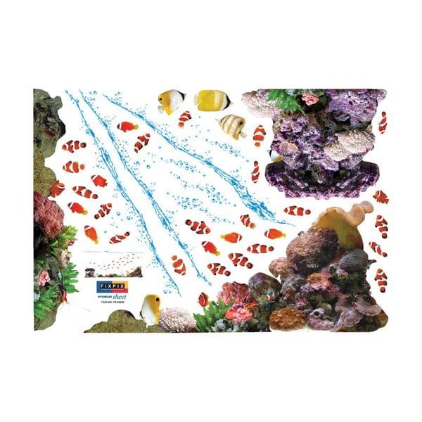 Samolepka MaDéco Exotic Fishes