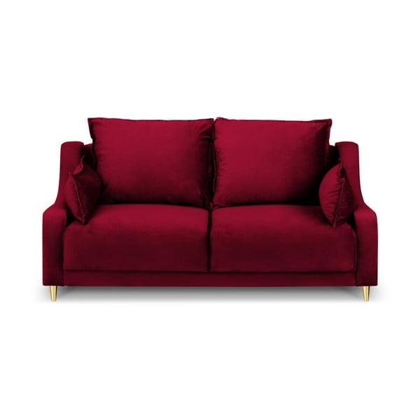 Červená dvojmiestna pohovka Mazzini Sofas Pansy