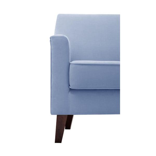 Blankytne modré kreslo Jalouse Maison Kylie