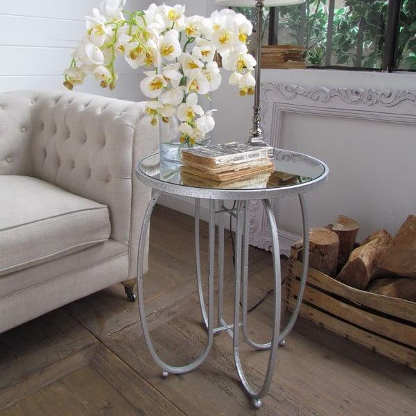 Odkladací stolík Silver Vintage