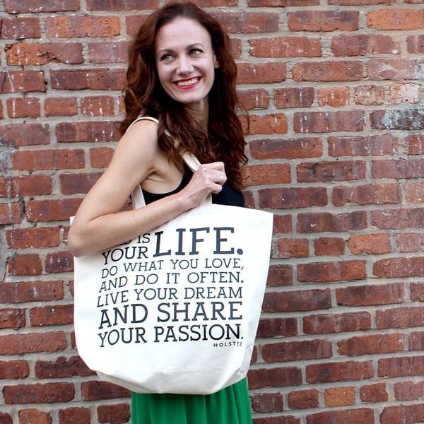 Plátená taška Manifesto