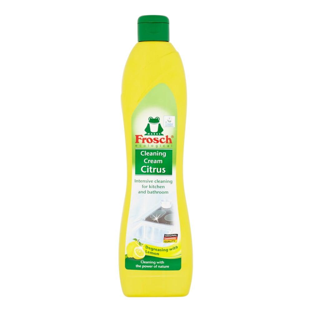 Tekutý piesok do kúpeľne a kuchyne Frosch s vôňou citróna, 500 ml