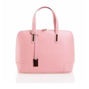 Kožená kabelka Olga, ružová