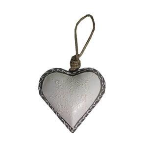 Dekoratívne srdce Antic Line Light Heart, 10 cm