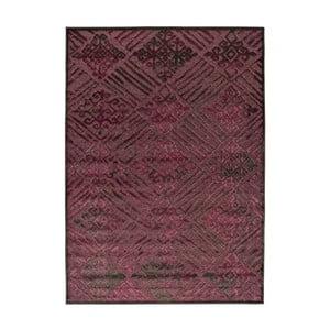 Tmavý vínový koberec Universal Soho, 140x200cm