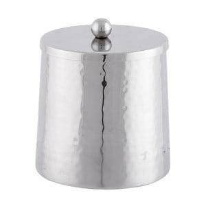 Dóza Cylinder Silver, 11 cm