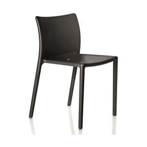 Stolička Air, čierna