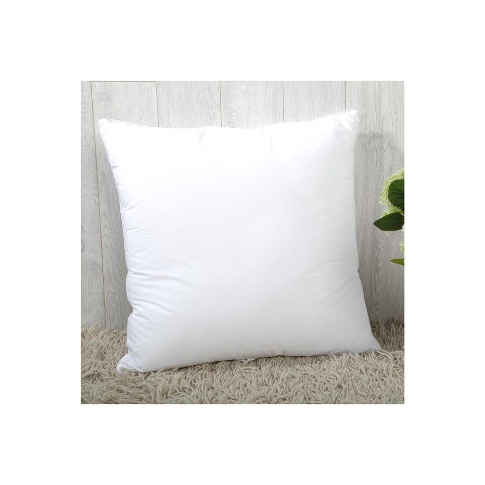 Biela výplň do vankúše s prímesou bavlny Minimalist Cushion Covers, 55 x 55 cm