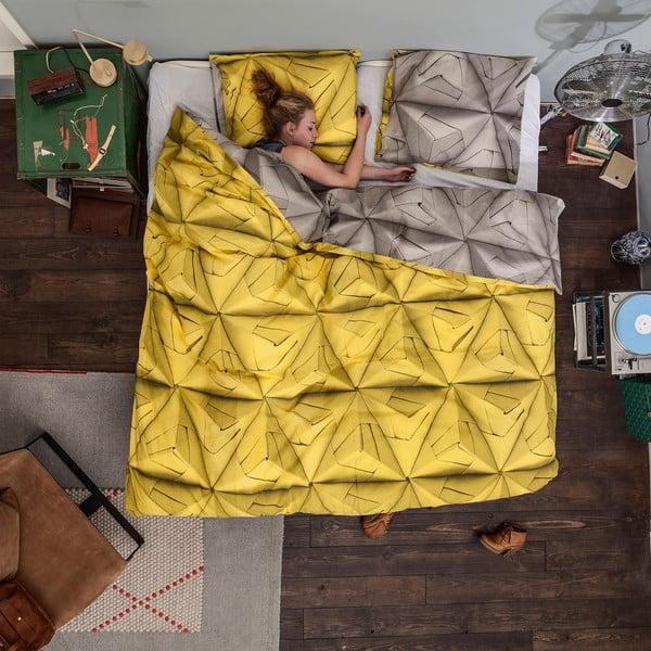 Obliečky Monogami Yellow 200 x 220 cm