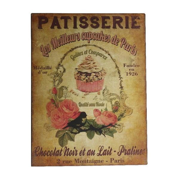 Nástenná dekorácia Patisserie Plaque