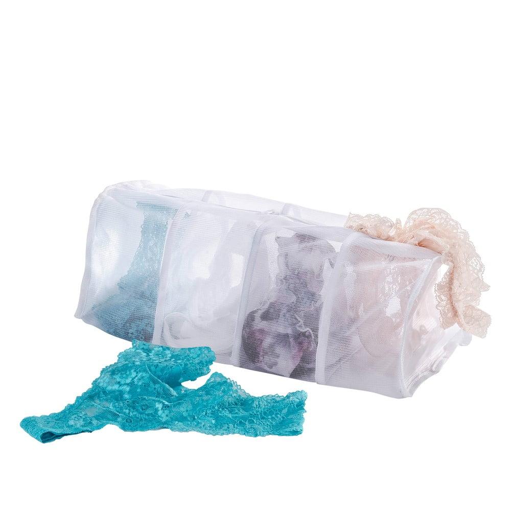 Biele sieťky na pranie spodnej bielizne Wenko