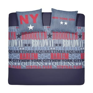 Obliečky Brodway Darkblue, 200x200 cm