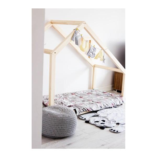 Detská posteľ z borovicového dreva Benlemi Deny, 80 x 190 cm