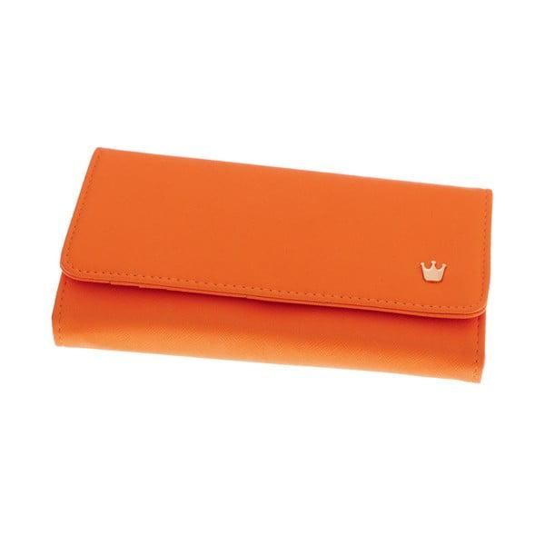 Dámska veľká peňaženka Queen, oranžová