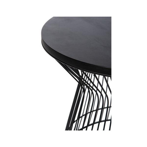 Odkládací stolík Hourglass Black