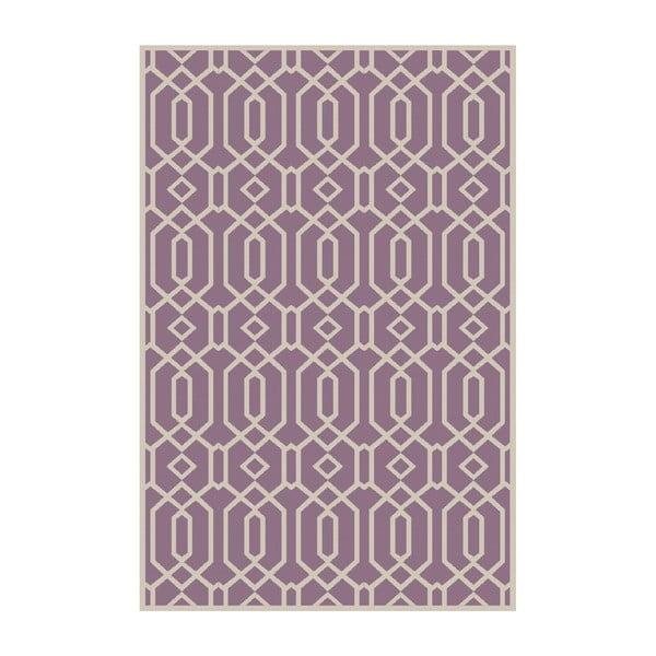 Vinylový koberec Rejilla Lila, 133x200 cm