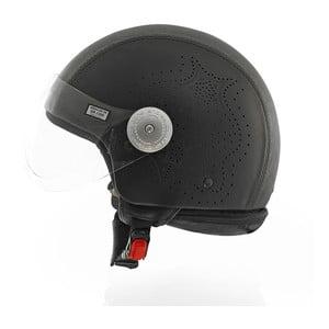 Helma Leather Laser Black, veľ. S