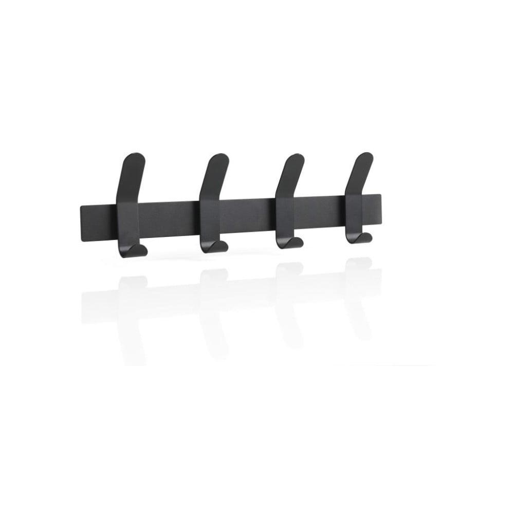 Čierny oceľový vešiak na stenu Zone A-Rack