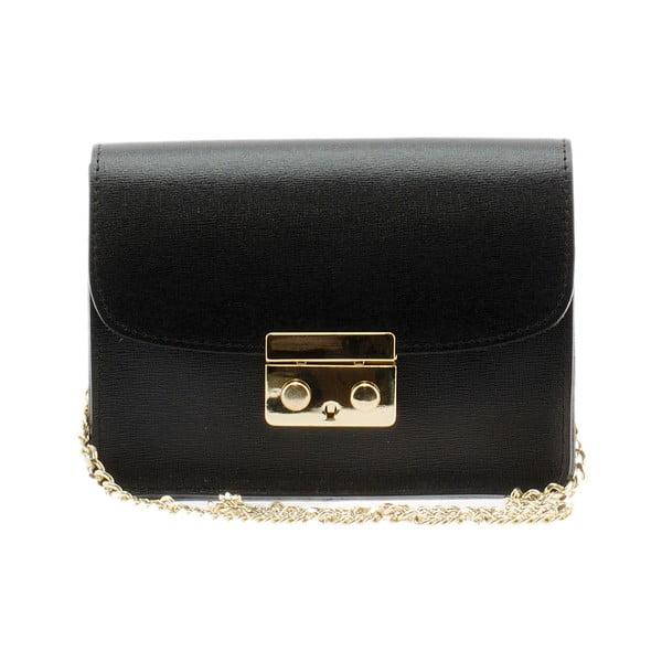 Kožená kabelka Markese 2416 Black