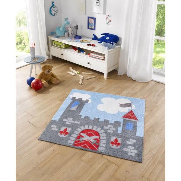 Detský koberec Hanse Home Kiddy Hrad, 100×100cm