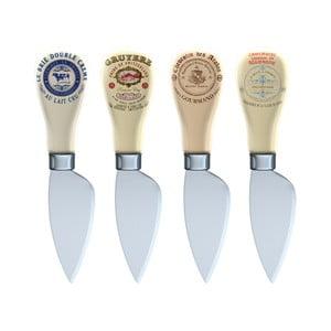 Sada 4 nožov na syry Creative Tops Gourmet Cheese