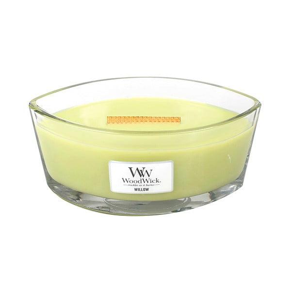 Vonná sviečka WoodWick Vrbové kvety, 453 g, 50 hodín