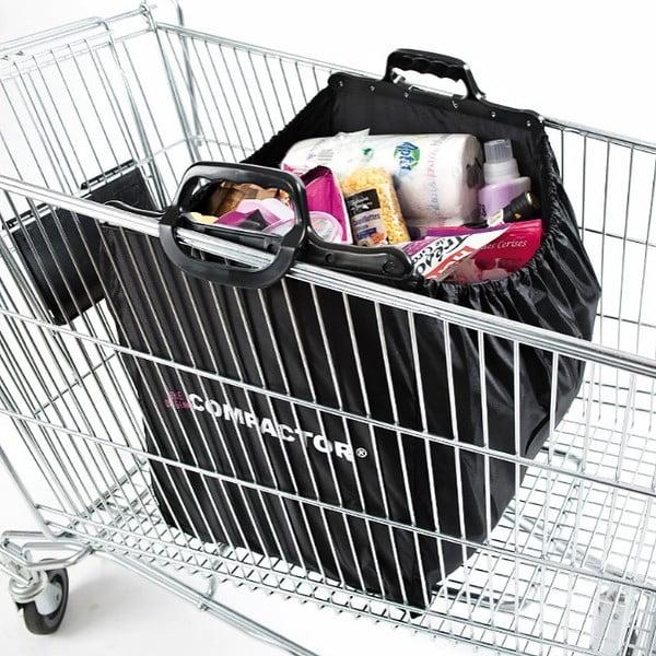 Nákupná taška s úchytkami Compactor Keep Shopping