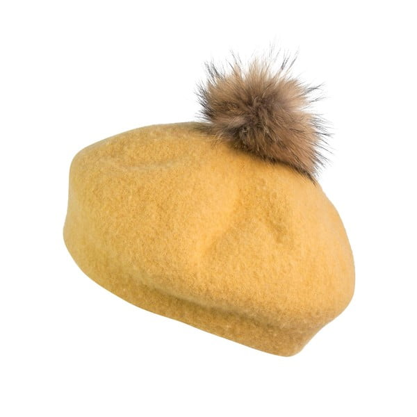Baretka Francoise Yellow