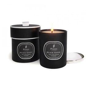 Sviečka s vôňou vanilky, pačuli a levandule Parks Candles London Black Magic, 50hodín horenia