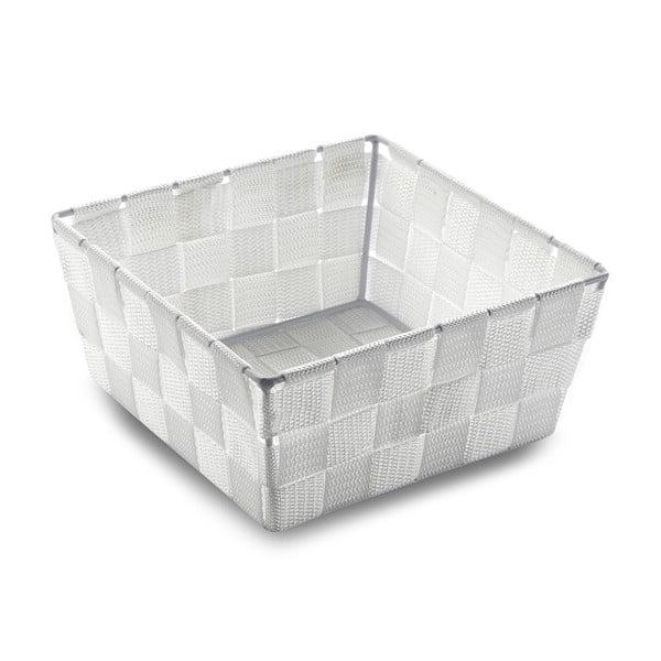 Úložný košík Woven White