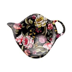 Tanierik na odkladanie čajových vrecúšok Ashdene Ebony Rose