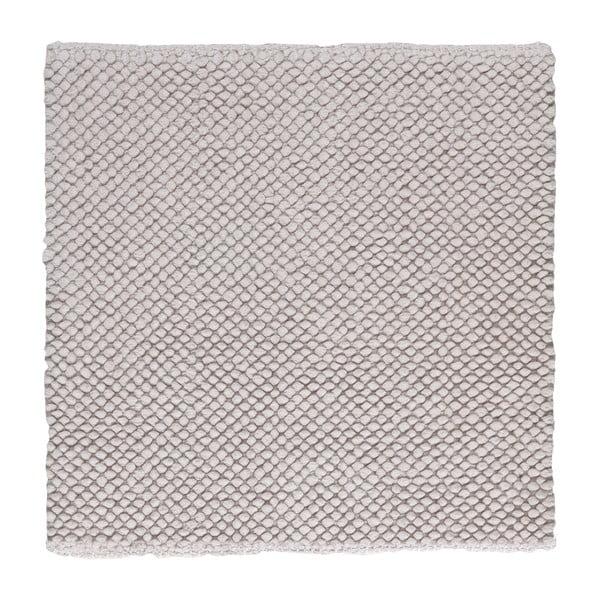 Kúpeľňová predložka Dotts Grey, 60x60 cm