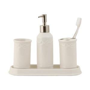 Kúpeľňový set White (4 ks)