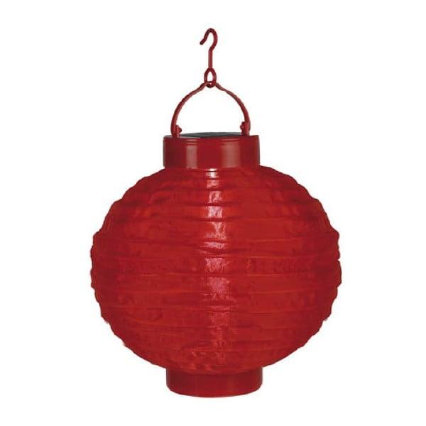 LED lampión Best Season Summer, červený