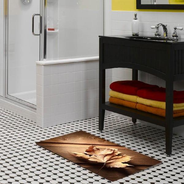 Vinylový koberec Leaf, 52×75cm
